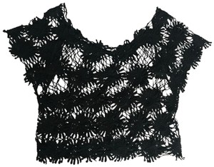 Poof Couture Top Black