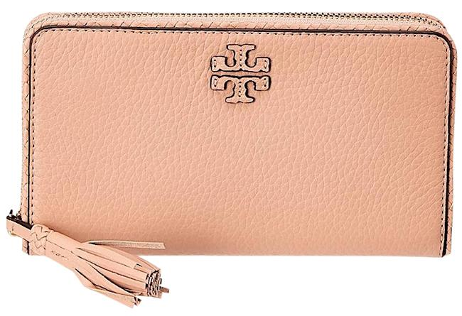 Tory Burch Natural New Taylor Women's Continental Leather Wallet Tory Burch Natural New Taylor Women's Continental Leather Wallet Image 1