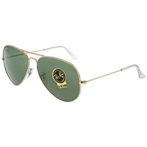 Ray-Ban Ray Ban Aviator Gold Aviator Sunglasses RB3026 L2846