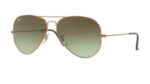 Ray-Ban Ray-Ban Aviator Sunglasses Gradient RB3026 Bronze Copper