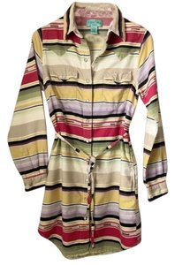 Tasha Polizzi short dress Multi Pearl Snap Buttons Colors Shirt Style on Tradesy