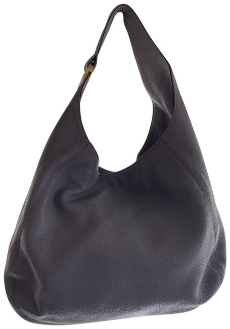 Item - Lilac / Gold Leather Hobo Bag