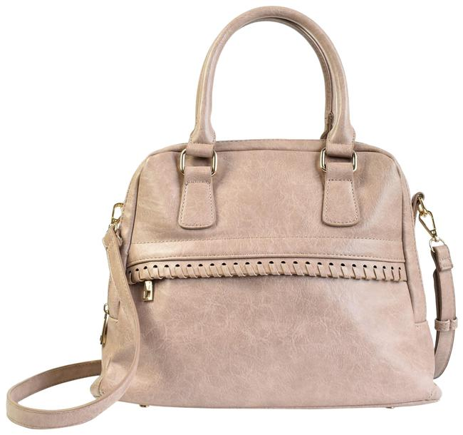 Item - Vulin Whipstitch Faux Leather Satchel