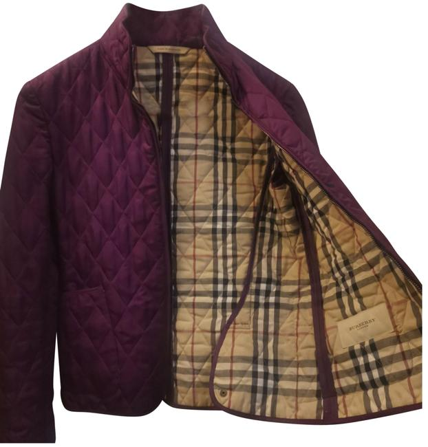 Item - Purple Quilted Jacket #63911 Coat Size Petite 4 (S)