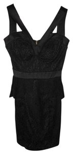 XOXO Lace Peplum Dress