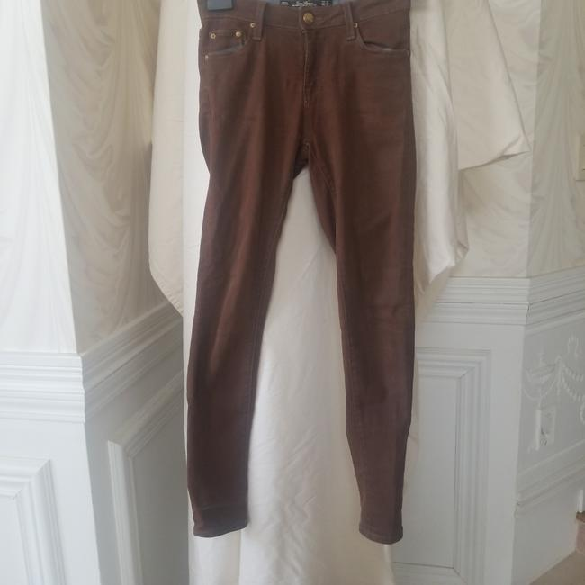 Item - Brown Coated Vintage Skinny Jeans Size 25 (2, XS)