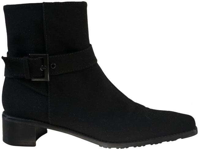 Item - Black Buckle Ankle Boots/Booties Size US 6.5 Narrow (Aa, N)