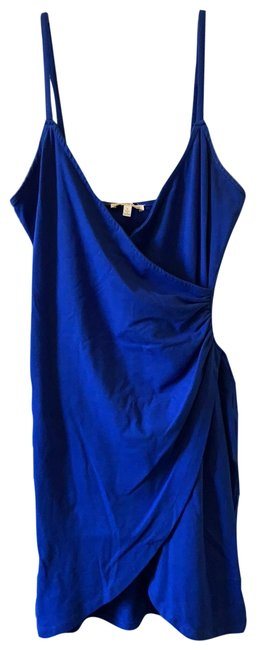 Item - Royal Blue Rn101331 Short Night Out Dress Size 4 (S)