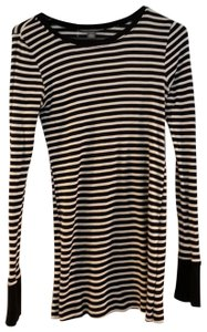 A Pea In The Pod striped long sleeve maternity shirt