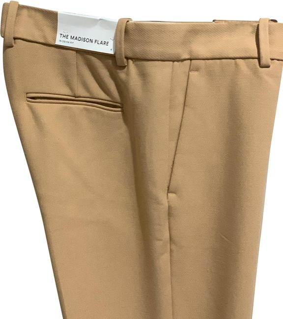 Item - Beige The Madison Flare Pants Size 6 (S, 28)