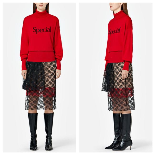 Item - 'special' Turtleneck Red Sweater