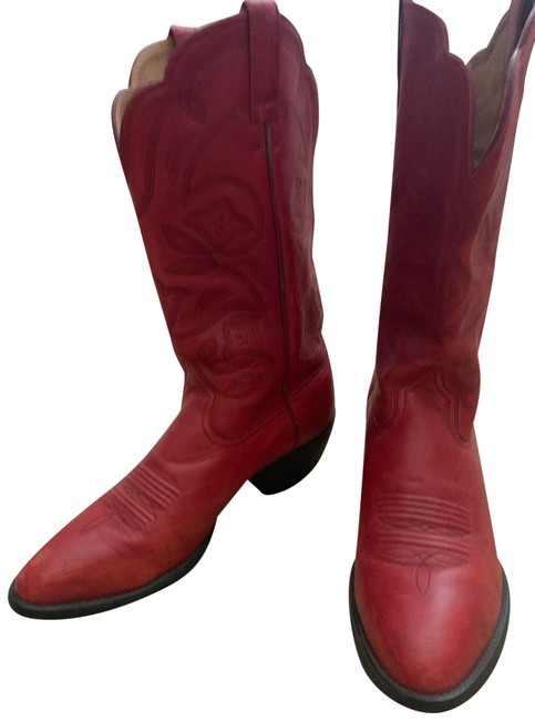 Item - Red 15761 Heritage Western Boots/Booties Size US 9 Regular (M, B)