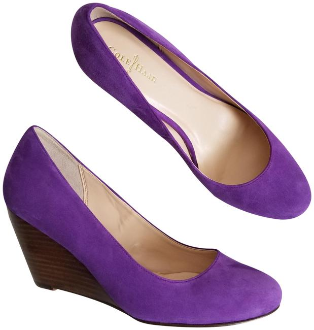 Item - Purple Air Lainey Wedges Size US 7.5 Regular (M, B)