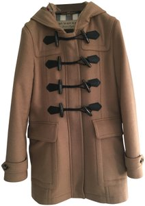 Burberry Toggle Duffle Wool Cashmere Pea Coat