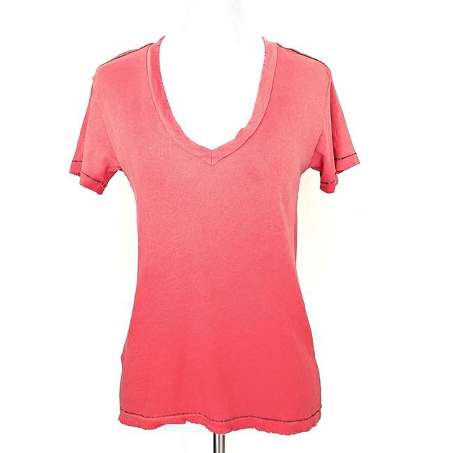 Item - Ombre Red  The V-neck Freshman In Tee Shirt Size 0 (XS)