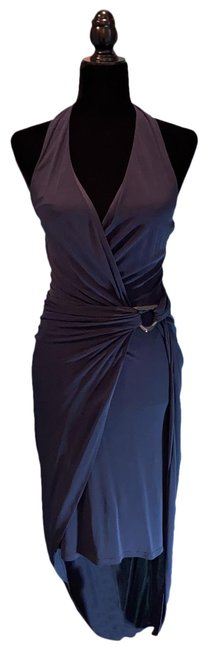 Item - Navy Mid-length Cocktail Dress Size 4 (S)