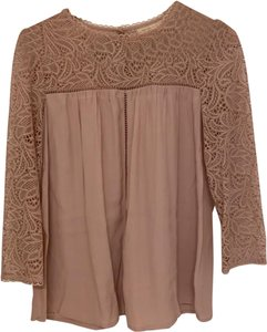 Moulinette Soeurs Top Dusty rose