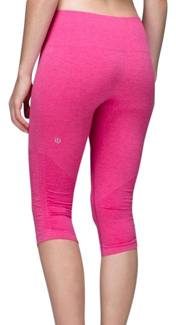 Item - Pink Seamless Compression In The Flow Leggings Activewear Bottoms Size 2 (XS, 26)