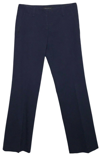 Theory Blue Navy Stretch Pants Size 0 (XS, 25) Theory Blue Navy Stretch Pants Size 0 (XS, 25) Image 1