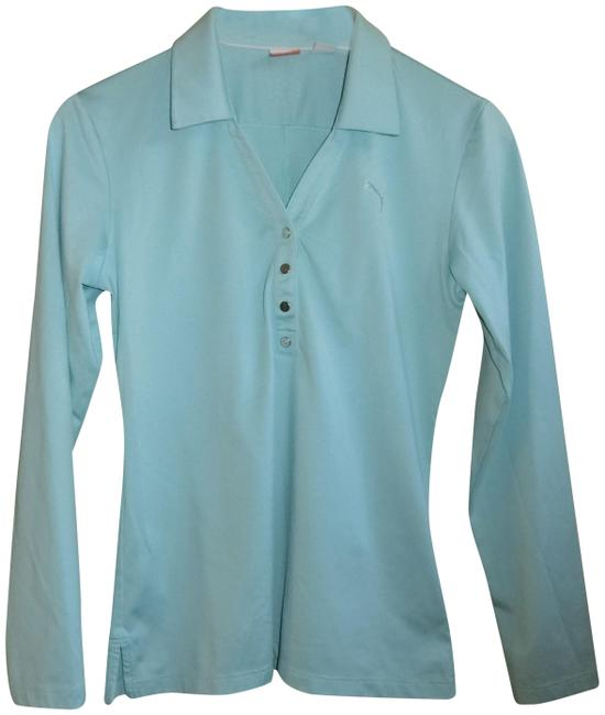 Item - Blue Collared Activewear Top Size 4 (S)