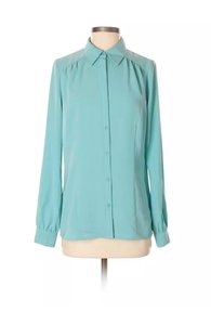 East 5th Essentials Button Down Shirt turquoise