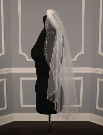 Homa Bridal Diamond White Medium 166s Veil