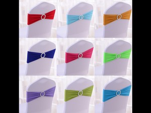 Any Colors 100 Spandex Chair Cover Bands Tablecloth