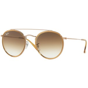 Ray-Ban Ray-Ban RB3647N Rose Gold/Light Brown Sunglasses