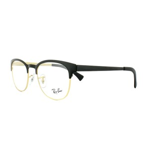 Ray-Ban Ray Ban RX6317 Top Black on Matte Gold Mens Womens