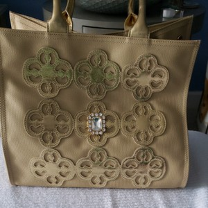 My Flat in London Tote in Gold/bling