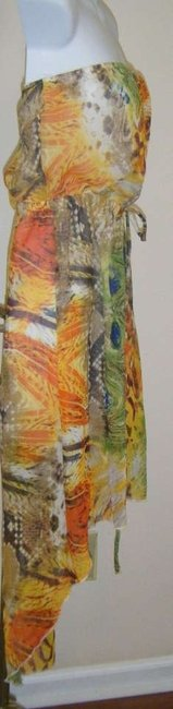 MULTI COLOR VIBRANT Maxi Dress by JUST LOVE