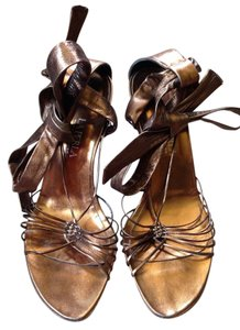 La Perla Bronze Pumps