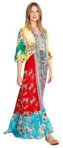 Maxi Dress by Johnny Was Boho Festival Embroidered