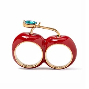 Kate Spade Kate Spade Ma Chérie Double Cherry Ring