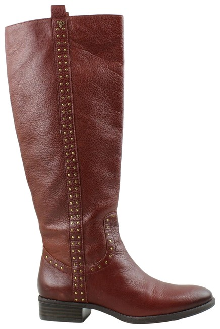 Item - Burgandy Womens Fashion Boots/Booties Size US 7.5 Wide (C, D)