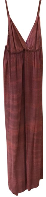 Item - Pink Red Rust Tie Dye Long Casual Maxi Dress Size 6 (S)