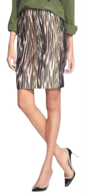 Item - Multi Colored Emma Mikado Leopard Ikat Skirt Size 4 (S, 27)