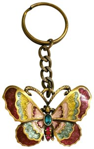 Jay Strongwater Jay Strongwater butterfly Keychain key ring