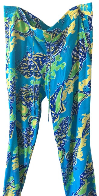 Item - Blue and Yellow Summer Collection Pants Size 12 (L, 32, 33)