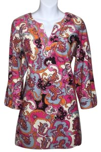 Jude Connally short dress Multicolored Paisley Preppy Shift Shift Retro on Tradesy