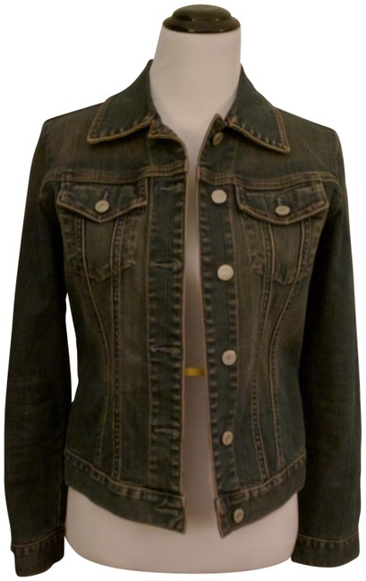 Item - Blue Denim Jacket Size 8 (M)