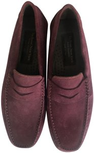 To Boot New York Suede Flat Leather Purple Formal