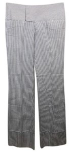 Alvin Valley Cotton Striped Flared Wide Leg Pants White/Blue
