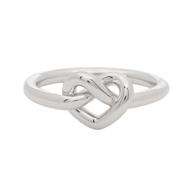 Item - Silver Loves Me Knot Ring
