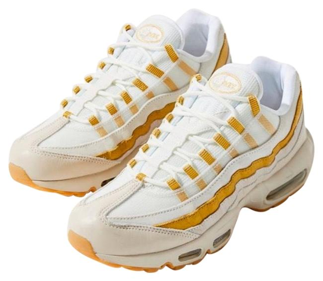 Nike White Gold Beige Air Max 95 Sneakers Size US 7.5 Regular (M, B) Nike White Gold Beige Air Max 95 Sneakers Size US 7.5 Regular (M, B) Image 1