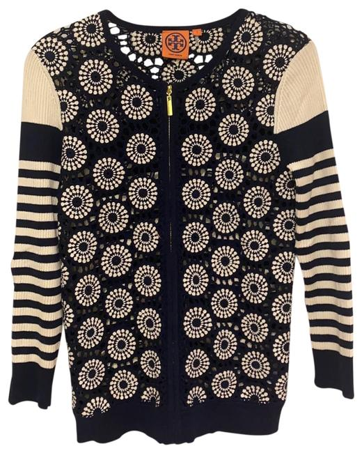 Item - Summer Navy Blue and Beige Sweater
