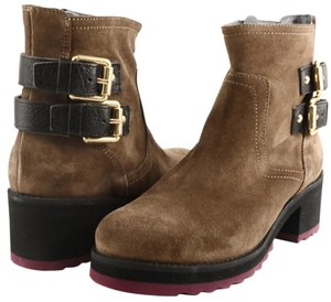 Kanna Comfortable Ankle Suede Light Brown Boots