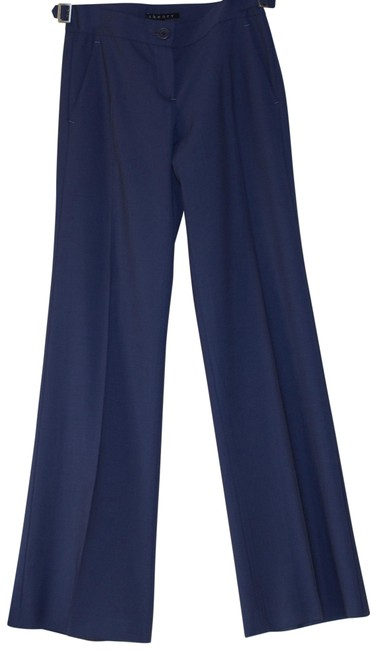 Item - Gray Blue Wool Stretch Flare Women's Pants Size 0 (XS, 25)