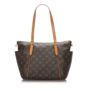 Louis Vuitton 0clvto062 Vintage Leather Tote in Brown