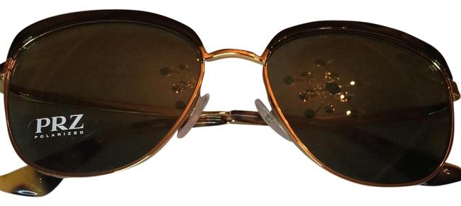 Item - Black with Gold and Tortoise Spr 51t Lax 5x1 Sunglasses
